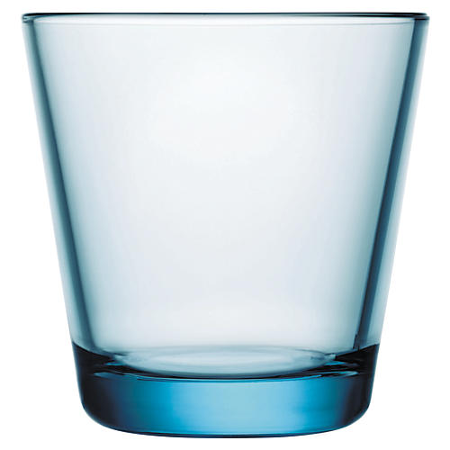 S/2 Kartio Light Blue 7 Oz Tumblers