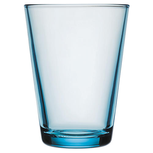 S/2 Kartio Light Blue 13.5 Oz Tumblers