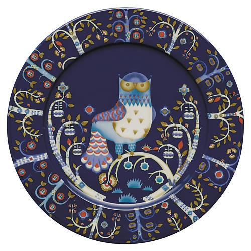 "Taika 11.75"" Plate, Blue"