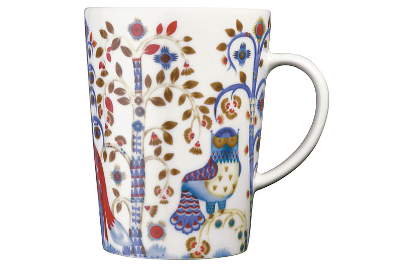 Taika 13.5 Oz Mug, White