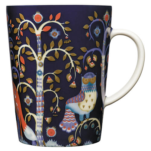Taika 13.5 Oz Mug, Blue