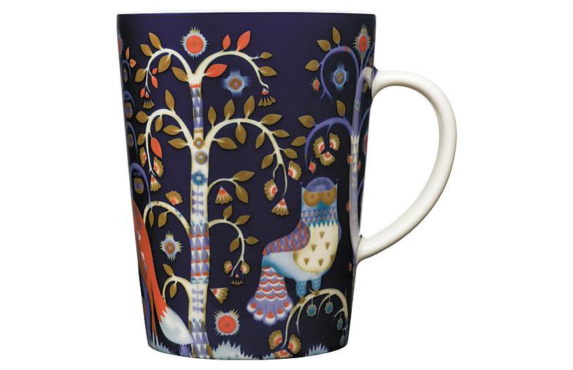 Taika 13.5 Oz Mug, Blue
