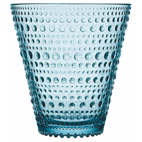 S/2 Kastehelmi Tumblers, Light Blue