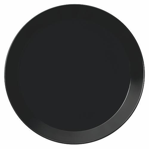 Teema Dinner Plate, Black