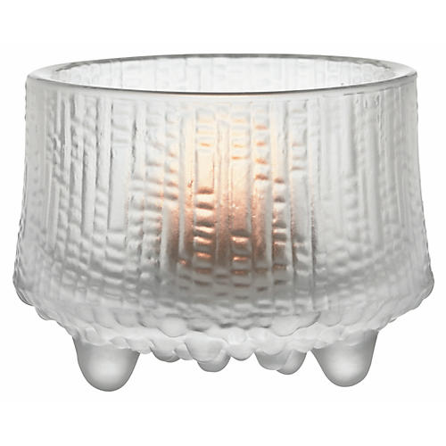 "3"" Ultima Thule Tealight Candleholder, Matte Frost"