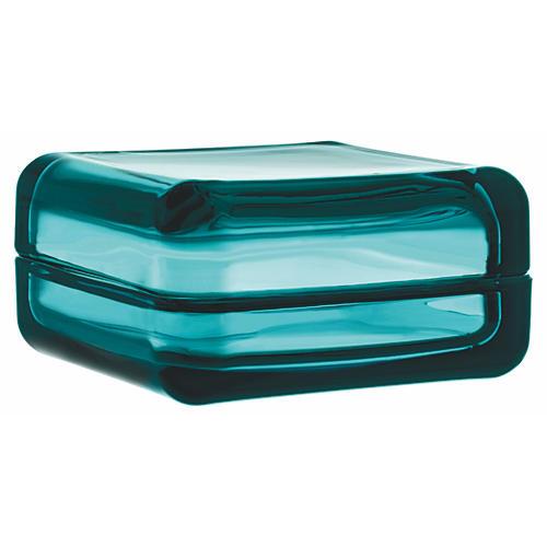 """4"""" Vitriini Box, Sea Blue"""