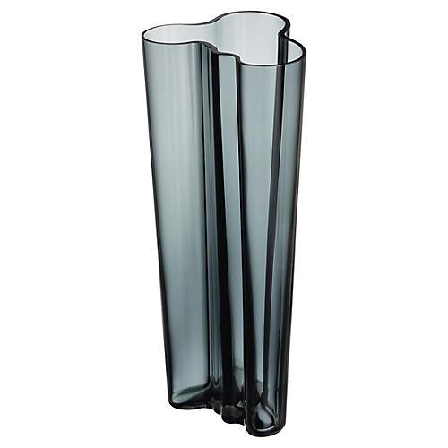 """10"""" Aalto Vase, Slate"""