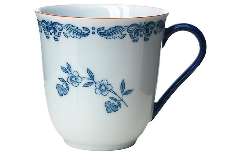 Ostindia Coffee Mug, Blue/White