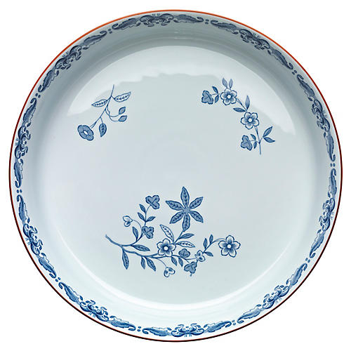 Ostindia Dinner Plate, Blue/White