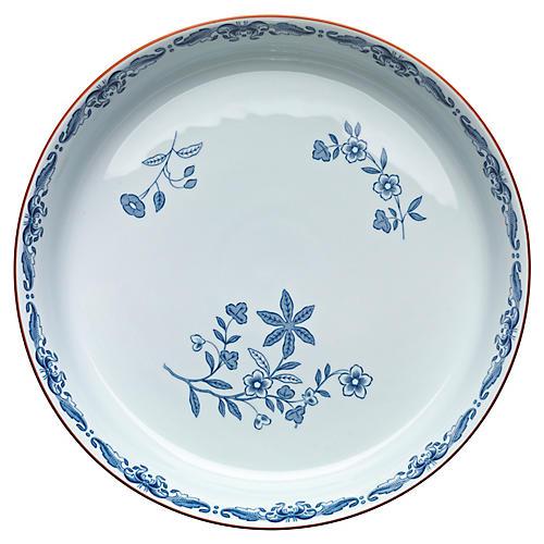 Ostindia Dinner Plate, Blue/White