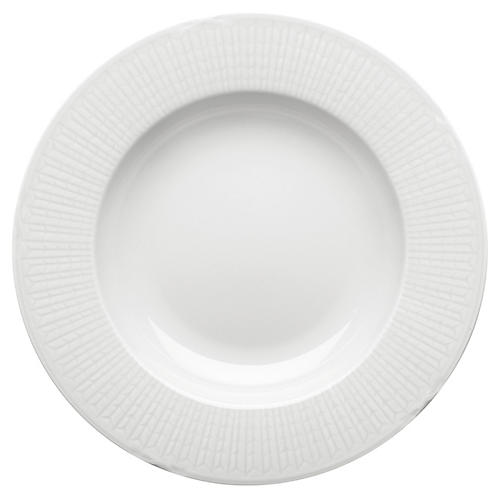Swedish Grace Pasta Bowl, Snow