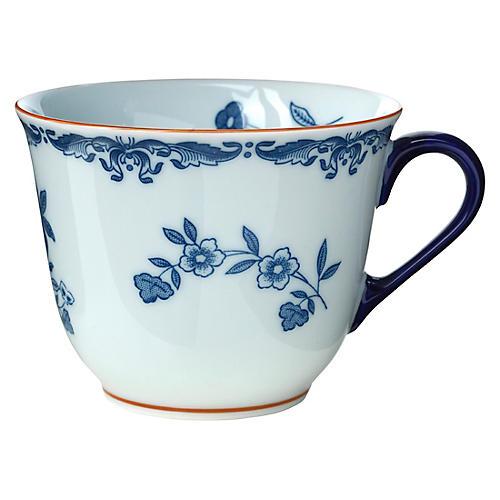 Ostindia Mug, Blue/White