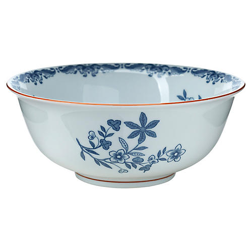 Ostindia Cereal Bowl, Blue/White