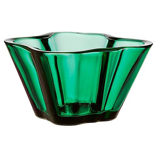 Aalto Bowl, Emerald