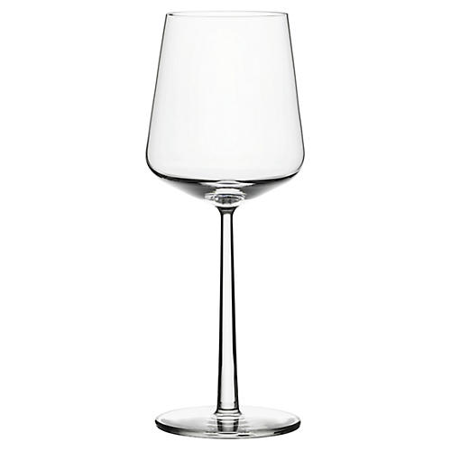 S/2 Essence Red-Wine Glasses, Clear