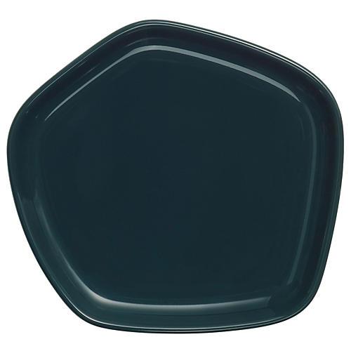 Issey Miyake Bread Plate, Dark Green