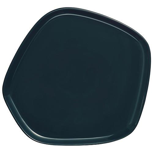 Issey Miyake Serving Platter, Dark Green