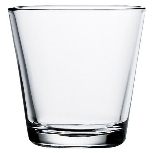 S/2 Kartio Tumblers, Clear