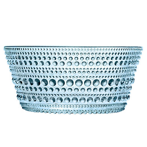 Kastehelmi Bowl, Light Blue