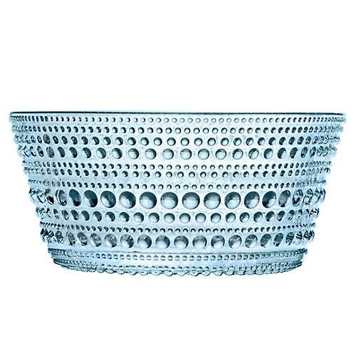 Kastehelmi Bowl, Light Blue