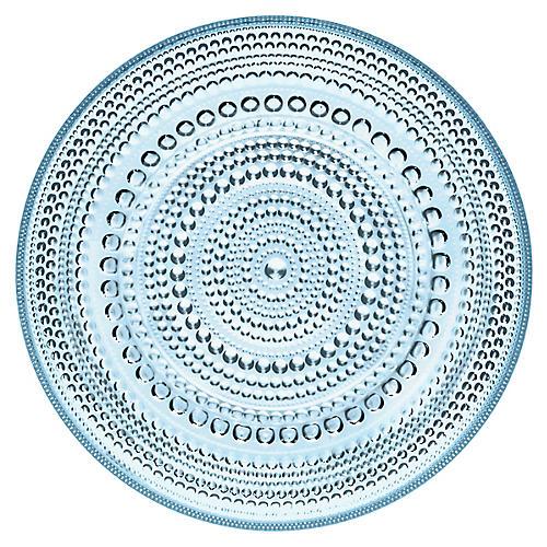 Kastehelmi Dinner Plate, Light Blue