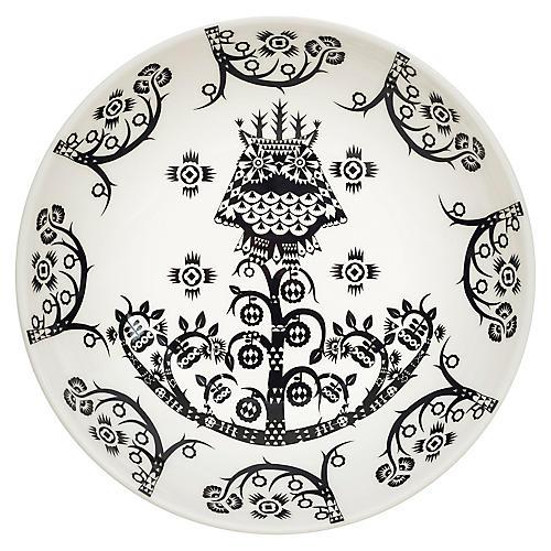 Taika I Coupe Bowl, Black/White