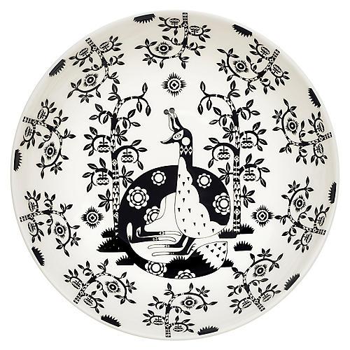 Taika II Coupe Bowl, Black/White