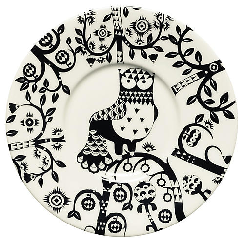 Taika Coffee Saucer, Black