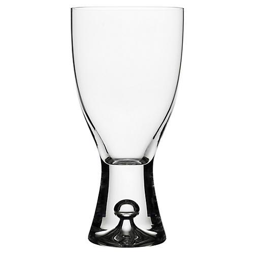 S/2 Tapio White-Wine Glasses, Clear