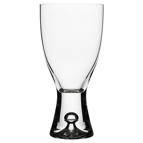S/2 Tapio White-Wine Glasses, Clear