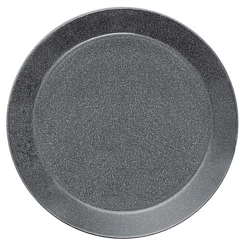 Teema Dinner Plate, Dotted Gray