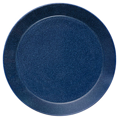 Teema Dinner Plate, Dotted Blue