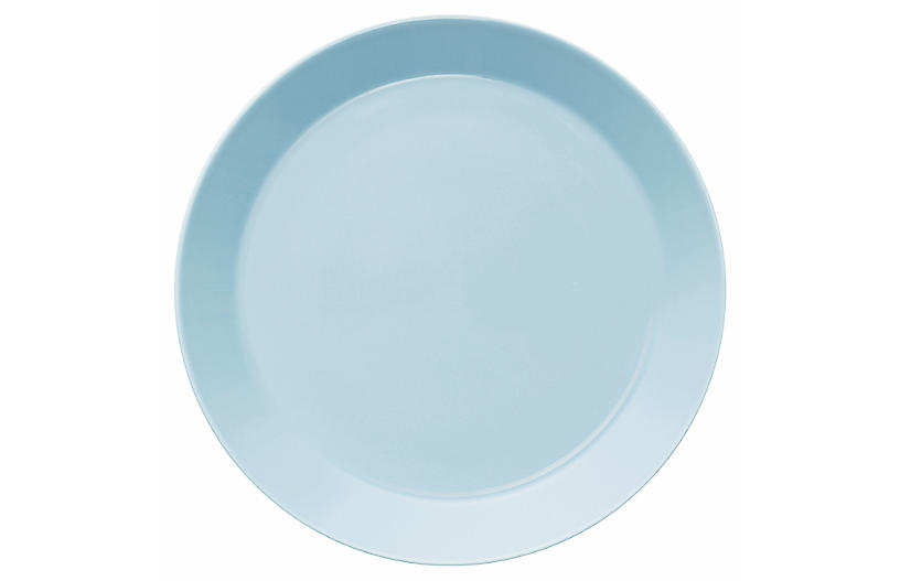 Teema Dinner Plate, Light Blue