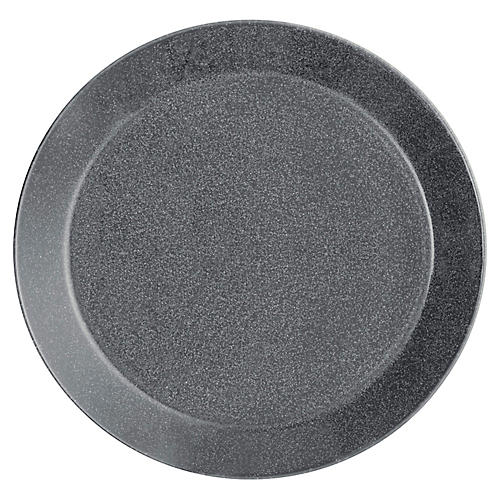 Teema Salad Plate, Dotted Gray
