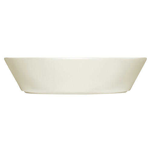 Teema Wide Serving Bowl, White