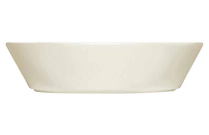 Teema Wide Serving Bowl, White