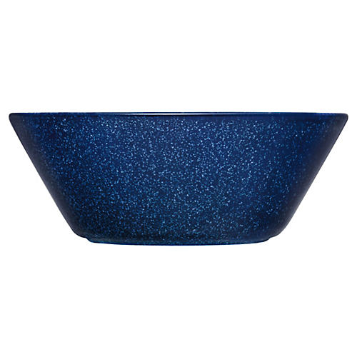 Teema Cereal Bowl, Dotted Blue