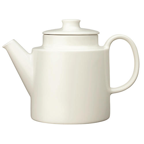 Teema Teapot, White