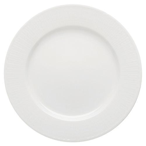 Swedish Grace Salad Plate, Snow