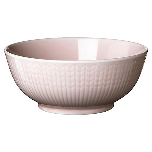 Swedish Grace Rice Bowl, Rose