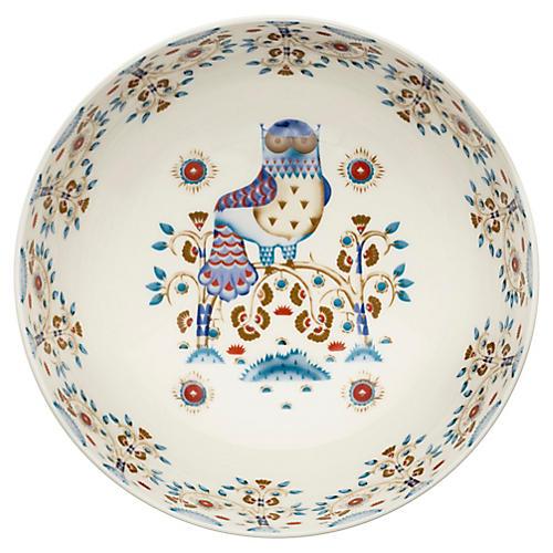 Taika Serving Bowl, White