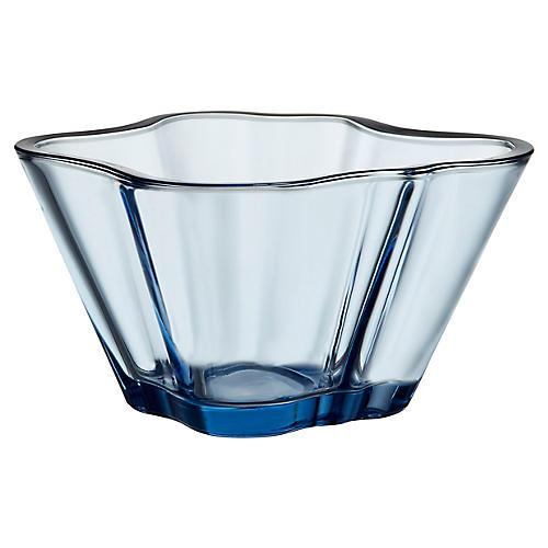 """5"""" Aalto Bowl, Aqua"""