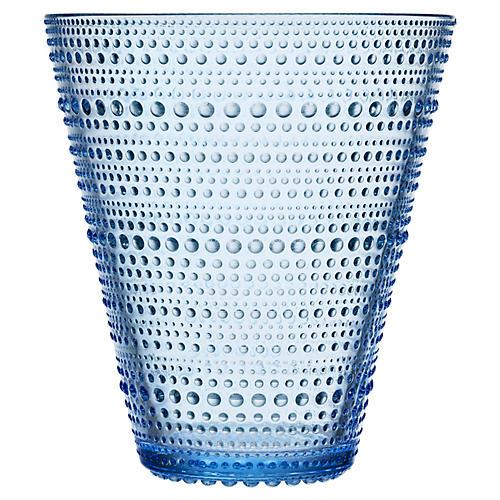 """6"""" Kastehelmi Vase, Aqua"""