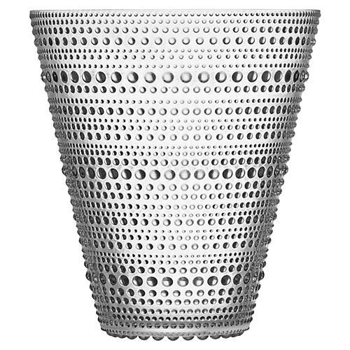 """6"""" Kastehelmi Vase, Clear"""