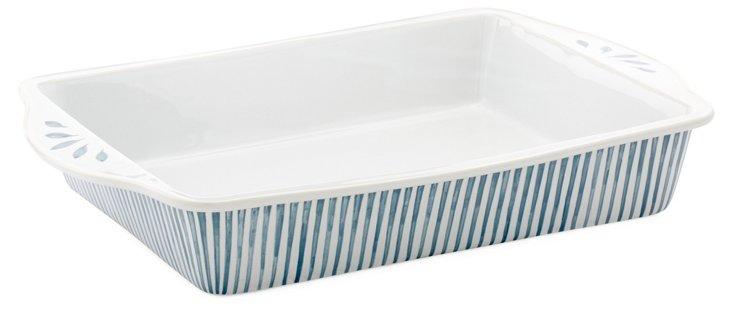 Large Striped Baker, Blue