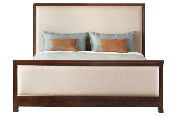 DNU, DISC Norris Upholstered  Bed