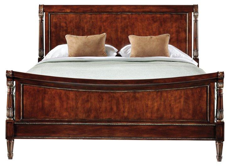 Reverie Sleigh Bed, King