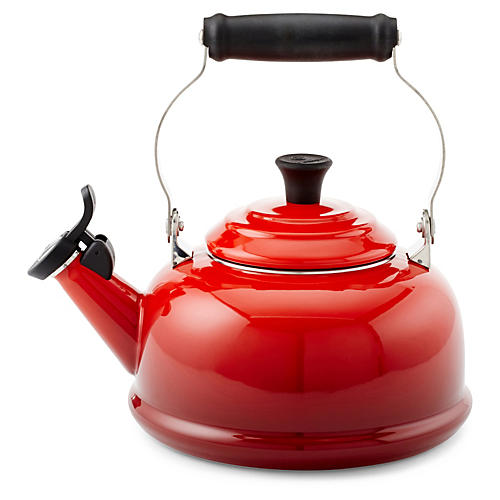 1.8 Qt Whistling Kettle, Cherry