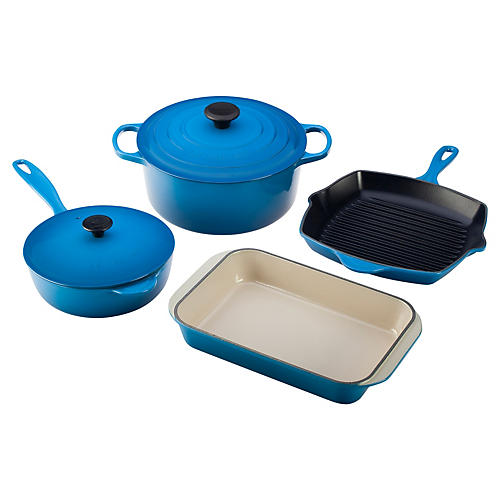 6-Pc Signature Cast Iron Set, Marseille