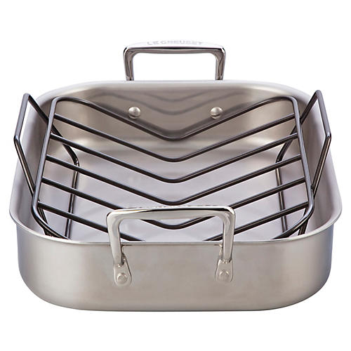 Stainless Steel Roasting Pan Set